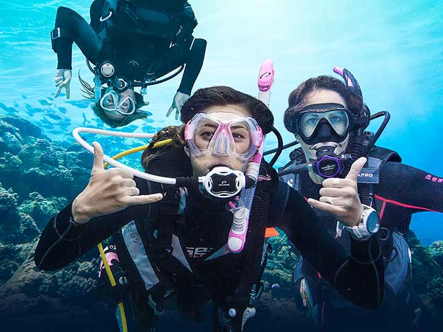 PADI Courses for young at age and young at heart