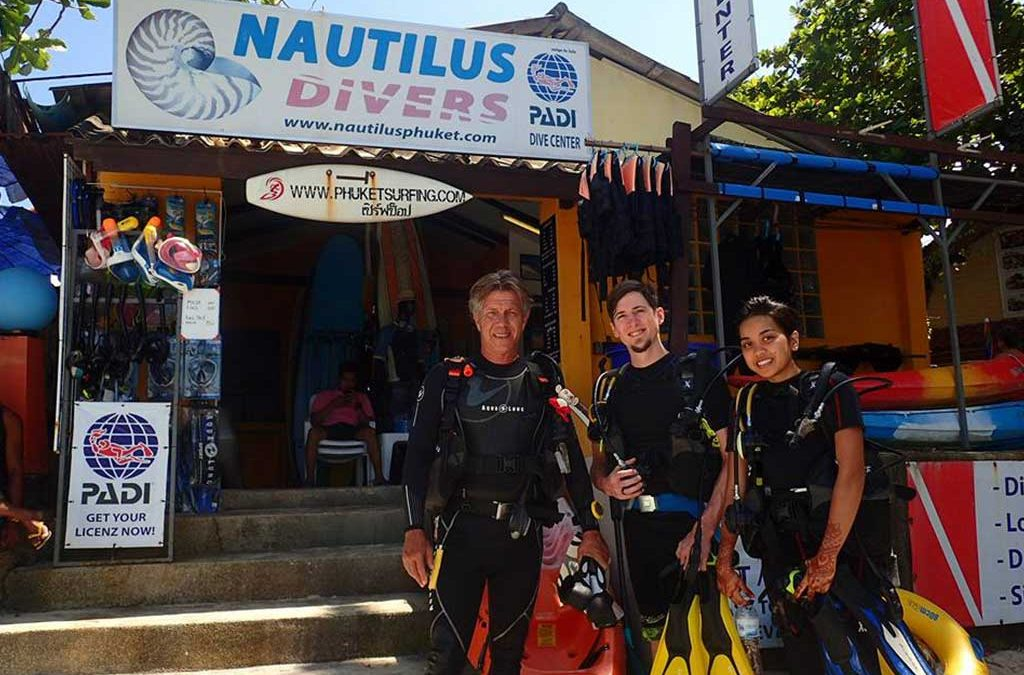 Nautilus Phuket – Your gateway to the finest dive-sites in Phuket